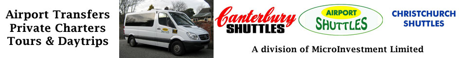 Affordable transport to car rentals, railway station, airport, antarctic centre.